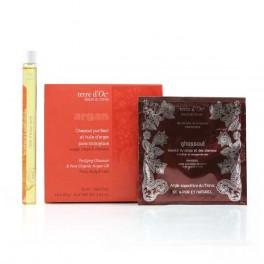 Ghassoul purificante e olio d'Argan puro - 50 ml